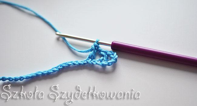 schemat na szydełko, crochet stitch, tutorial