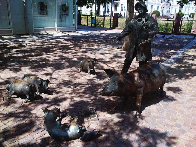 pomnik świniopasa