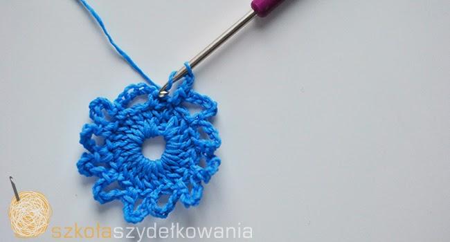 snieżynka na szydełku, gwiazdka na szydełku, crochet snowflake