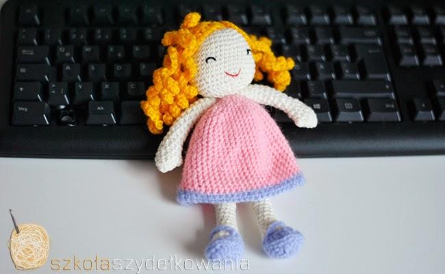 amigurumi, crochet doll, lalka na szydełku