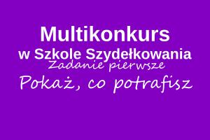 multikonkurs w Szkole Szydełkowania, Szkoła Szydełkowania. DMC