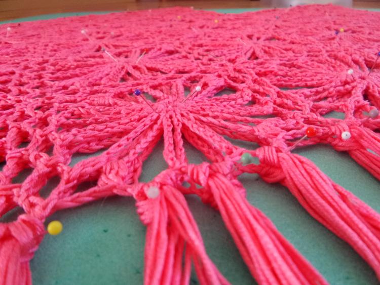 Szkoła Szydełkowania, szydełkowe ponczo, crochet poncho, tutorial, frędzle