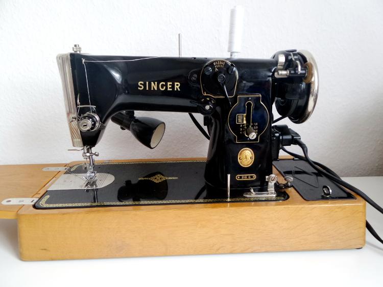 szycie, Singer 216G, maszyna do szycia, Szkoła Szydełkowania