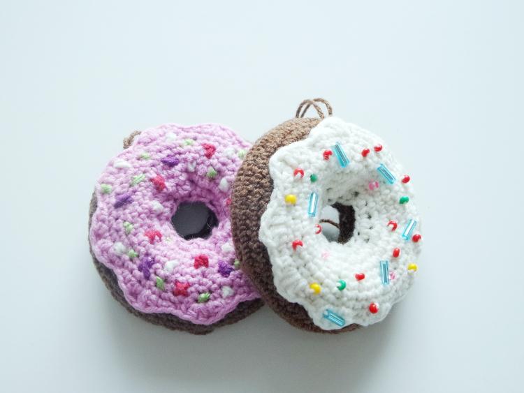 tydzień przedświąteczny, Szkoła Szydełkowania, szydełkowa oponka, szydełkowe ciastko, tutorial, szydełkowanie, crochet, crochet donut
