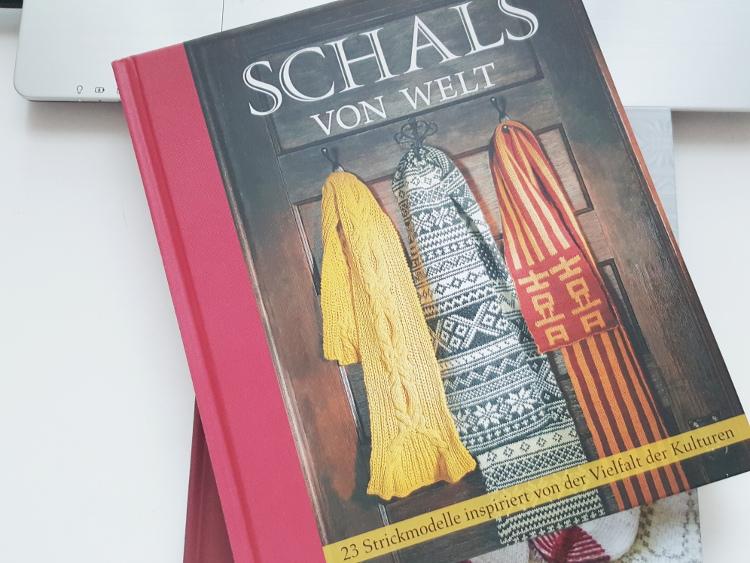 szal z warkoczami dziergany na drutach, druty, warkocze, Szkoła Szydełkowania, Schals von Welt