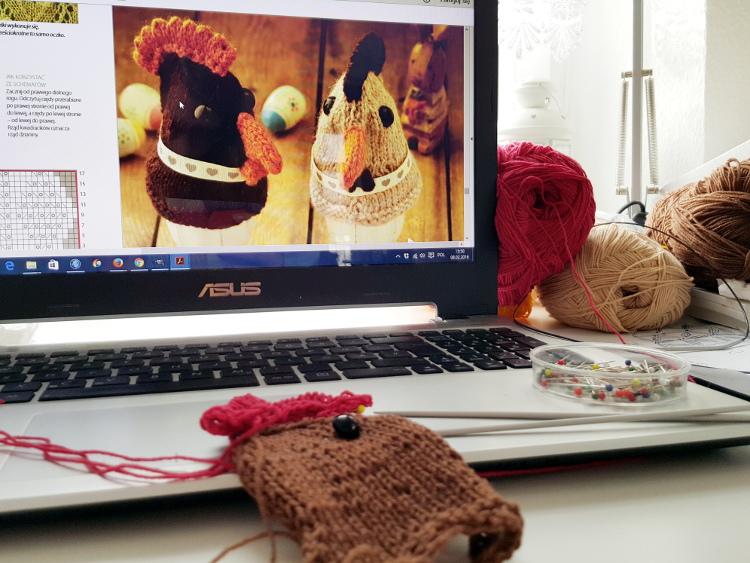150 pomysłów do zrobienia na drutach, druty, gazeta, Mollie potrafi,