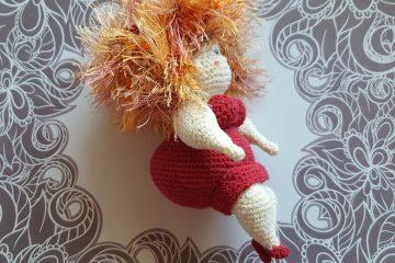 Pfundige Damen, amigurumi, Szkoła Szydełkowania, szydełkowanie, crochet