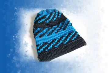 Szkoła Szydełkowania, obręcze dziewiarskie, czapka, knitting loom