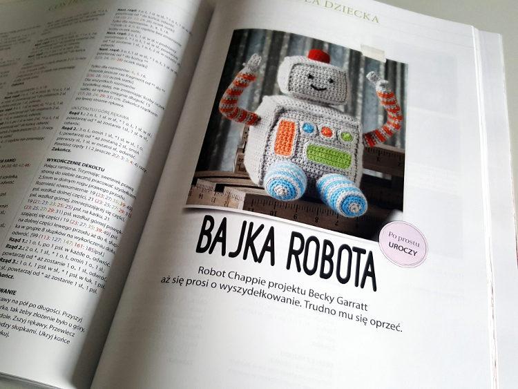 101 nowych pomysłów na robótki szydełkowe, szydełkowanie, recenzja, Ulubiony Kiosk, Szkoła Szydełkowania, książki o szydełkowaniu