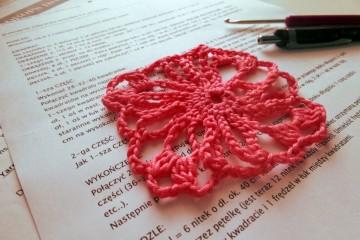 Szkoła Szydełkowania, szydełkowe ponczo, crochet poncho, tutorial
