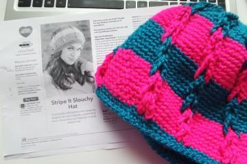 szydełkowa czapka, crochet hat, Szkoła Szydełkowania, szydełkowanie, tutorial