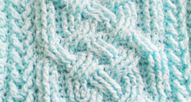 Szkoła Szydełkowania, oczka skrzyżowane, misja: szydełkowe warkocze, crochet cable, słupki reliefowe